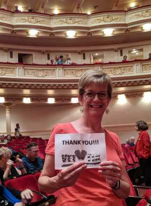 Michelle attended Sweet Charity Choir: Live at Carnegie Hall on Jul 15th 2019 via VetTix