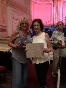 Jack attended Sweet Charity Choir: Live at Carnegie Hall on Jul 15th 2019 via VetTix