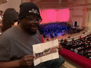 Anthony attended Sweet Charity Choir: Live at Carnegie Hall on Jul 15th 2019 via VetTix
