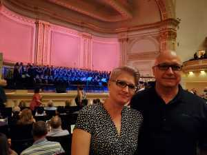 George attended Sweet Charity Choir: Live at Carnegie Hall on Jul 15th 2019 via VetTix
