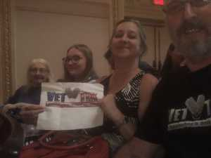 Roger attended Sweet Charity Choir: Live at Carnegie Hall on Jul 15th 2019 via VetTix