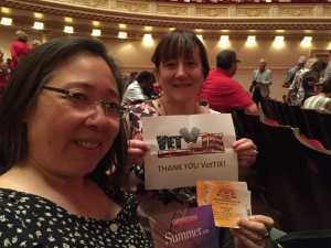 CindyEW  attended Sweet Charity Choir: Live at Carnegie Hall on Jul 15th 2019 via VetTix