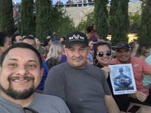 Val attended Santana: Supernatural Now - Pop on Jul 9th 2019 via VetTix