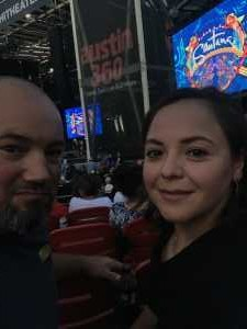 Carl Collins attended Santana: Supernatural Now - Pop on Jul 9th 2019 via VetTix