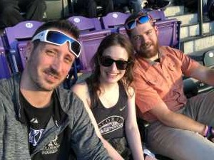 Cody attended Colorado Rockies vs. Arizona Diamondbacks - MLB on Aug 12th 2019 via VetTix