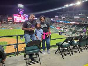 Damion attended Colorado Rockies vs. Arizona Diamondbacks - MLB on Aug 12th 2019 via VetTix