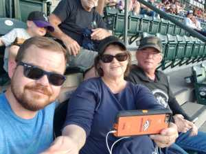 Wayne ii attended Colorado Rockies vs. Arizona Diamondbacks - MLB on Aug 12th 2019 via VetTix
