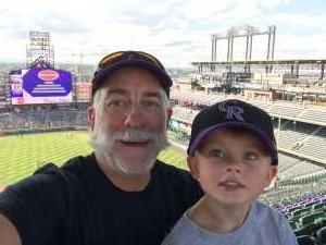 Herb attended Colorado Rockies vs. Arizona Diamondbacks - MLB on Aug 12th 2019 via VetTix