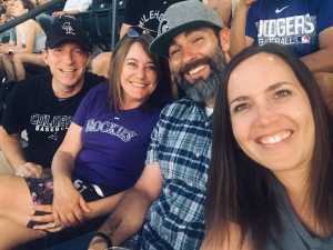 Jesse attended Colorado Rockies vs. Arizona Diamondbacks - MLB on Aug 12th 2019 via VetTix