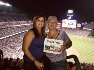 MICHELLE attended Colorado Rockies vs. Arizona Diamondbacks - MLB on Aug 12th 2019 via VetTix