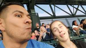 Alfredo attended Colorado Rockies vs. Arizona Diamondbacks - MLB on Aug 12th 2019 via VetTix