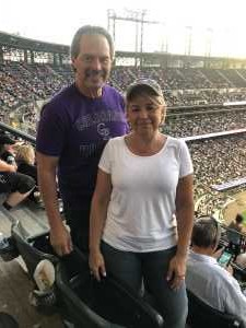 Lawrence attended Colorado Rockies vs. Arizona Diamondbacks - MLB on Aug 12th 2019 via VetTix
