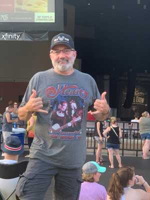 Victor attended Heart: Love Alive Tour - Pop on Jul 20th 2019 via VetTix