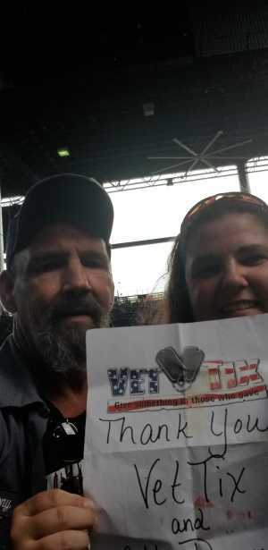 Anthony  attended Shinedown: Attention Attention World Tour - Pop on Jul 14th 2019 via VetTix