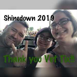 Keith attended Shinedown: Attention Attention World Tour - Pop on Jul 14th 2019 via VetTix