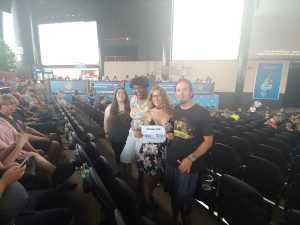 Yvette attended Shinedown: Attention Attention World Tour - Pop on Jul 14th 2019 via VetTix