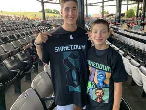 Robert attended Shinedown: Attention Attention World Tour - Pop on Jul 14th 2019 via VetTix