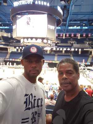 Frederick attended The Basketball Tournament TBT 2019 Championship Week - Semifinals on Aug 4th 2019 via VetTix