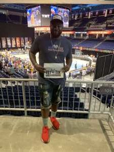 renness attended The Basketball Tournament TBT 2019 Championship Week - Semifinals on Aug 4th 2019 via VetTix