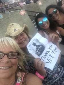 Lori attended Luke Bryan: Sunset Repeat Tour 2019 - Country on Jul 14th 2019 via VetTix