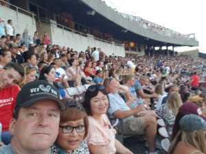 Harry attended Luke Bryan: Sunset Repeat Tour 2019 - Country on Jul 14th 2019 via VetTix