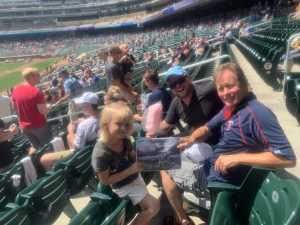 Amanda attended Minnesota Twins vs. Kansas City Royals - MLB on Aug 4th 2019 via VetTix