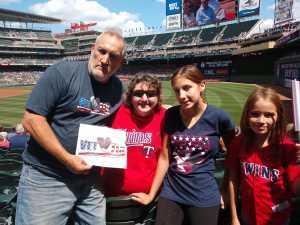 Thomas attended Minnesota Twins vs. Kansas City Royals - MLB on Aug 4th 2019 via VetTix