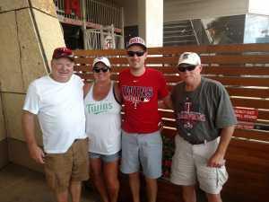 Willard attended Minnesota Twins vs. Kansas City Royals - MLB on Aug 4th 2019 via VetTix