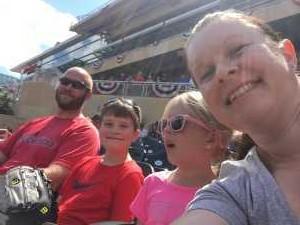 Erika attended Minnesota Twins vs. Kansas City Royals - MLB on Aug 4th 2019 via VetTix