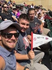 Zachary attended Minnesota Twins vs. Kansas City Royals - MLB on Aug 4th 2019 via VetTix