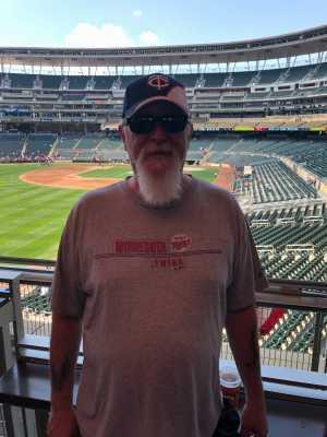 Blair attended Minnesota Twins vs. Kansas City Royals - MLB on Aug 4th 2019 via VetTix