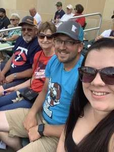 Christopher attended Minnesota Twins vs. Kansas City Royals - MLB on Aug 4th 2019 via VetTix