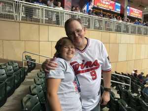James attended Minnesota Twins vs. Kansas City Royals - MLB on Aug 4th 2019 via VetTix