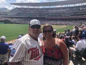 Steven attended Minnesota Twins vs. Kansas City Royals - MLB on Aug 4th 2019 via VetTix