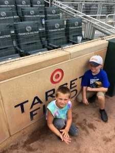 donavan attended Minnesota Twins vs. Kansas City Royals - MLB on Aug 4th 2019 via VetTix
