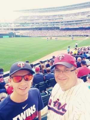 Andy attended Minnesota Twins vs. Kansas City Royals - MLB on Aug 4th 2019 via VetTix