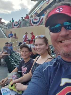 Ronald  attended Minnesota Twins vs. Kansas City Royals - MLB on Aug 4th 2019 via VetTix