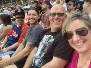 Eric and fam attended Minnesota Twins vs. Kansas City Royals - MLB on Aug 4th 2019 via VetTix
