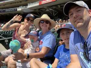 Brian attended Minnesota Twins vs. Kansas City Royals - MLB on Aug 4th 2019 via VetTix