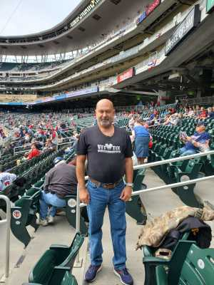 Roger attended Minnesota Twins vs. Kansas City Royals - MLB on Sep 22nd 2019 via VetTix