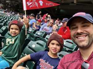 James C. attended Minnesota Twins vs. Kansas City Royals - MLB on Sep 22nd 2019 via VetTix