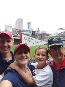 SeabeeSteve attended Minnesota Twins vs. Kansas City Royals - MLB on Sep 22nd 2019 via VetTix