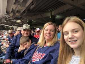 Paul attended Minnesota Twins vs. Kansas City Royals - MLB on Sep 22nd 2019 via VetTix