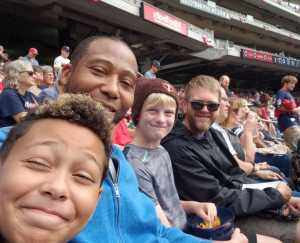 Clarence attended Minnesota Twins vs. Kansas City Royals - MLB on Sep 22nd 2019 via VetTix
