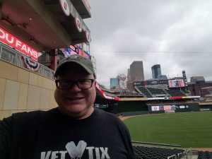Matthew attended Minnesota Twins vs. Kansas City Royals - MLB on Sep 22nd 2019 via VetTix