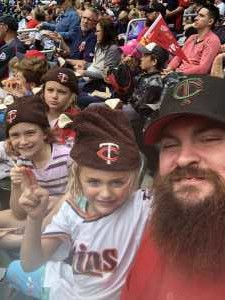 Michael attended Minnesota Twins vs. Kansas City Royals - MLB on Sep 22nd 2019 via VetTix