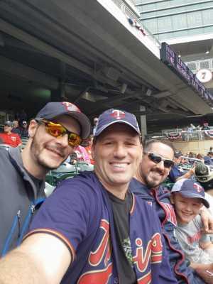 Michael attended Minnesota Twins vs. Kansas City Royals - MLB on Sep 22nd 2019 via VetTix