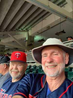 Bill attended Minnesota Twins vs. Kansas City Royals - MLB on Sep 22nd 2019 via VetTix