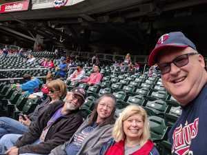 Dave attended Minnesota Twins vs. Kansas City Royals - MLB on Sep 22nd 2019 via VetTix