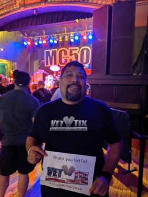 Jose attended Mc50 - Pop on Aug 30th 2019 via VetTix